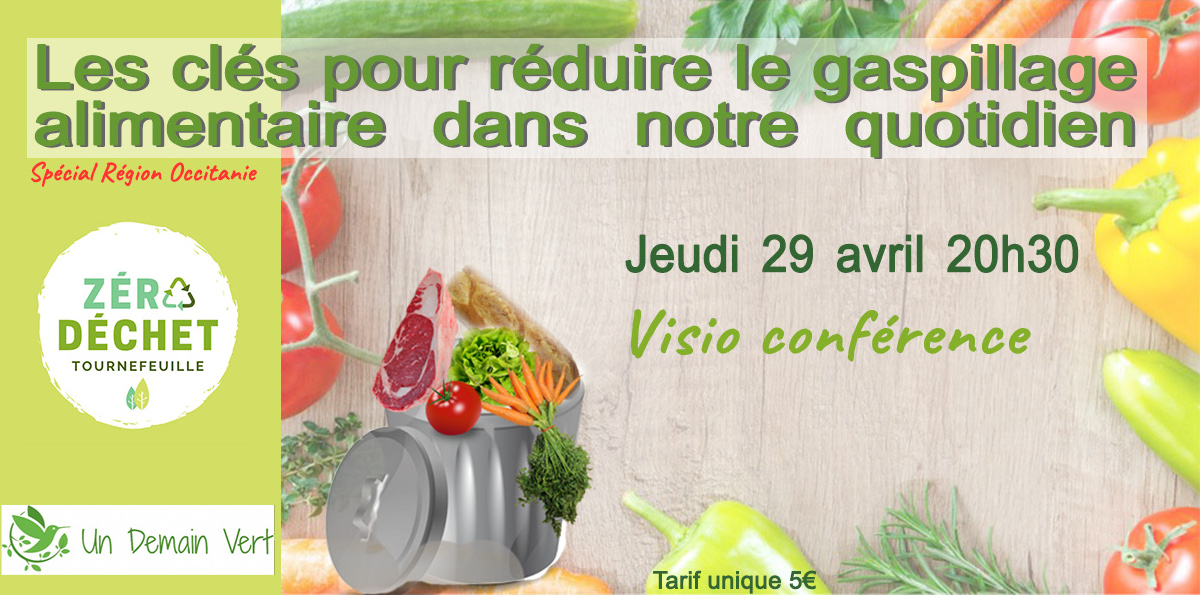 Conference gaspillage alimentaire 25 avril